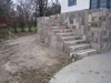 Natural Stone Staircase made from Castle Rock