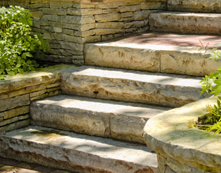Stone Staircases Contractor Waterford Michigan - Arches & Pillers - stairs